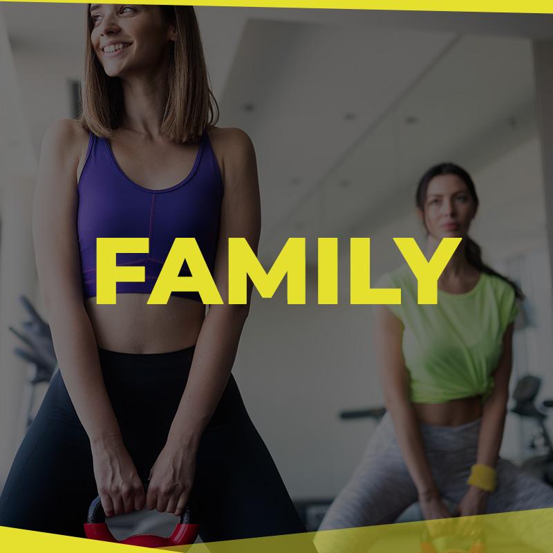HQ Gym Membership Family