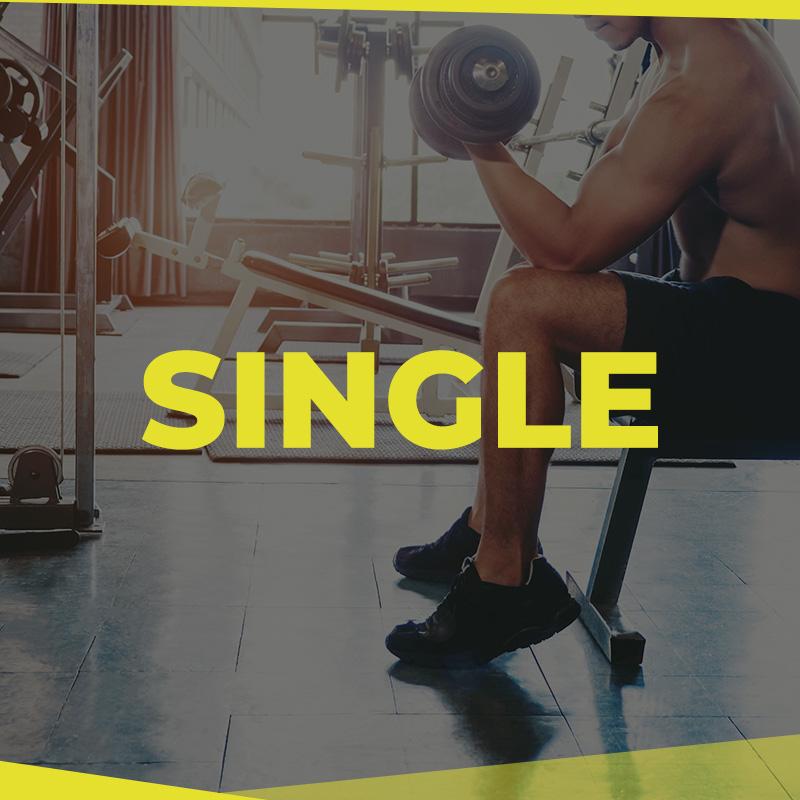 HQ Gym Membership Singles