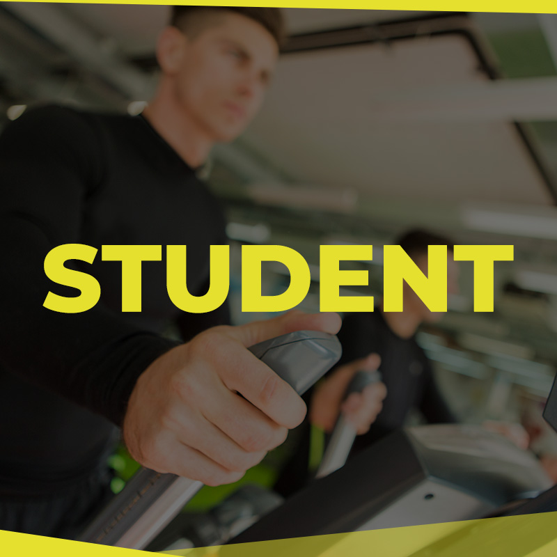 HQ Gym Membership Student